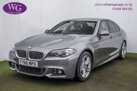 2016 BMW 5 SERIES 2.0 520D M SPORT 4d AUTO 188 BHP £17495.00