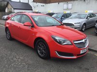 USED 2015 15 VAUXHALL INSIGNIA 2.0 DESIGN CDTI ECOFLEX S/S 5d 118 BHP OUR  PRICE INCLUDES A 6 MONTH AA WARRANTY DEALER CARE EXTENDED GUARANTEE, 1 YEARS MOT AND A OIL & FILTERS SERVICE. 6 MONTHS FREE BREAKDOWN COVER.    CALL US NOW FOR MORE INFORMATION OR TO BOOK A TEST DRIVE ON 01315387070 !!