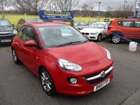 USED 2015 15 VAUXHALL ADAM 1.2 JAM 3d 69 BHP WAS £6,995 NOW ONLY £6,495 !!