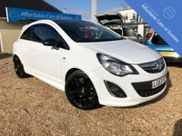 USED 2013 63 VAUXHALL CORSA 1.2 LIMITED EDITION 3d 83 BHP Stunning 3 door Limited edition petrol Corsa