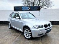 2007 BMW X3 2.0 D M SPORT 5d 148 BHP £5490.00