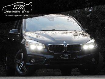 2015 BMW 2 SERIES 1.5 218I SPORT GRAN TOURER 5d AUTO 134 BHP £14995.00