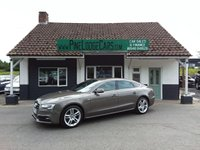 USED 2014 63 AUDI A5 2.0 SPORTBACK TDI QUATTRO S LINE S/S 5d AUTO 174 BHP FINANCE AND PART EXCHANGE WELCOME. 3 MONTHS WARRANTY. ALL CARS HAVE A YEAR MOT AND A FRESH SERVICE.