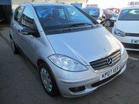 2007 MERCEDES-BENZ A CLASS AUTOMATIC 1.5 A150 CLASSIC SE 5d  94 BHP £3295.00
