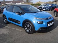 USED 2017 17 CITROEN C3 1.2 PURETECH FLAIR 5d 81 BHP ONE OWNER WITH LOW MILES