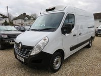 2015 RENAULT MASTER 2.3 MM35 BUSINESS DCI 125 BHP FRIDGE / CHILLER WITH OVERNIGHT 30470 MILES £13995.00