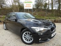 USED 2015 64 BMW 1 SERIES 1.6 116D EFFICIENTDYNAMICS 5dr £0 Tax, 1 Owner, Keyless Start