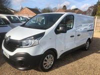 USED 2015 15 RENAULT TRAFIC 1.6 SL27 BUSINESS DCI S/R P/V 1d 115 BHP LOW MILES 39000 AIR CONDITIONING ONE OWNER FROM NEW.