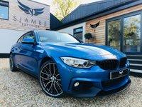 2016 BMW 4 SERIES 3.0 430D XDRIVE M SPORT 2d AUTO 255 BHP £21490.00