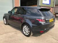 USED 2015 65 LAND ROVER RANGE ROVER SPORT 3.0 SDV6 HSE 5d AUTO 306 BHP BLACK LEATHER,FSH