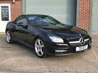USED 2011 MERCEDES-BENZ SLK 1.8 SLK250 BLUEEFFICIENCY AMG SPORT 2d AUTO 204 BHP RED LEATHER, HPI CLEAR