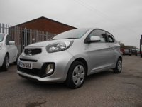 USED 2012 61 KIA PICANTO 1.0 1 AIR 3d 68 BHP ONE OWNER FREE ROAD TAX