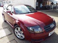 2004 AUDI TT 1.8 ROADSTER 2d 148 BHP £2495.00