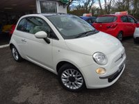 USED 2015 64 FIAT 500 1.2 LOUNGE 3d 69 BHP One Lady Owner from new, Comprehensive Service History + Serviced by ourselves, MOT until February 2020, Great fuel economy! ONLY £30 Road Tax!