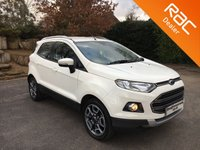 USED 2016 65 FORD ECOSPORT 1.0 TITANIUM 5d 124 BHP Great Size Family Car!   Bluetooth, Parking Sensors, Alloy Wheels