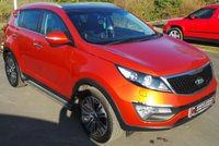 USED 2015 64 KIA SPORTAGE 1.7 CRDI 3 ISG 5d 114 BHP 2 Owners - 4 Services - Massive Specification - New Clutch!