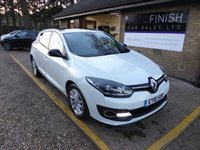 USED 2016 16 RENAULT MEGANE 1.5 LIMITED NAV DCI 5d 110 BHP * 1 KEEPER * 2 KEYS * FULL SERVICE HISTORY * SAT-NAV * ZERO TAX * BLUETOOTH *