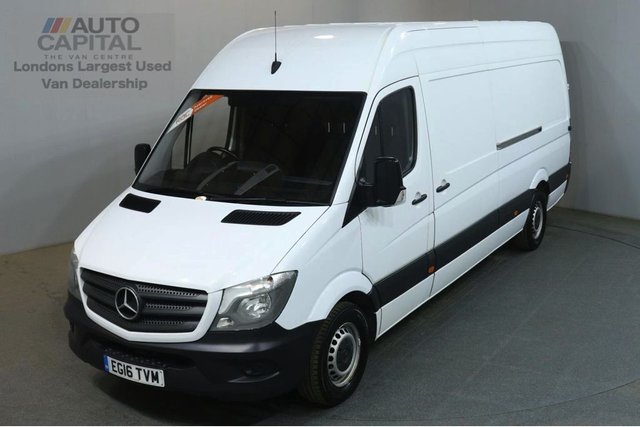 2016 16 MERCEDES-BENZ SPRINTER 2.1 313 CDI LWB 129 BHP H/ROOF PANEL VAN ONE OWNER S/H SPARE KEY