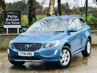USED 2016 16 VOLVO XC60 2.0 D4 SE 5d 188 BHP Heated front seats, Rear parking sensors, Power tailgate