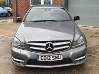 USED 2012 12 MERCEDES-BENZ C-CLASS 1.8 C180 BLUEEFFICIENCY AMG SPORT 2d AUTO 156 BHP SAT NAV, HPI CLEAR