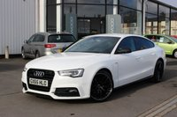 2015 AUDI A5 2.0 TDI 190 BHP BLACK EDITION PLUS QUATTRO 5d £16485.00