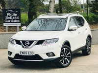 USED 2015 65 NISSAN X-TRAIL 1.6 DCI N-TEC 5d 130 BHP 4X4 7 SEATS Panoramic roof, Sat Nav, Reverse camera