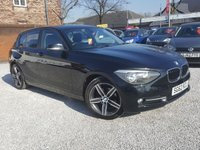 USED 2012 62 BMW 1 SERIES 2.0 116D SPORT 5d 114 BHP 1 PREVIOUS OWNER + SERVICE HIS