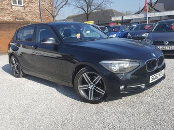 View our 2012 62 BMW 1 SERIES 2.0 116D SPORT 5d 114 BHP