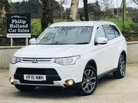 USED 2015 15 MITSUBISHI OUTLANDER 2.3 DI-D GX 3 5d 147 BHP 4x4 7 SEATS Half leather, Rear parking sensors, Cruise control
