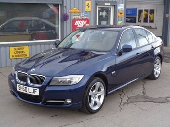 2010 BMW 3 SERIES 2.0 318D EXCLUSIVE EDITION 4d 141 BHP £5995.00