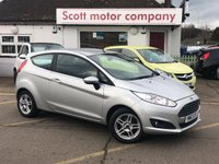 2014 FORD FIESTA 1.0 Zetec 3 door £5599.00