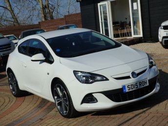 2015 VAUXHALL ASTRA 1.4 GTC LIMITED EDITION S/S 3d 118 BHP £8995.00