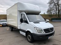 USED 2013 13 MERCEDES-BENZ SPRINTER 313 CDI 13'6 LUTON TAIL LIFT *PRICED CHEAP TO SELL*