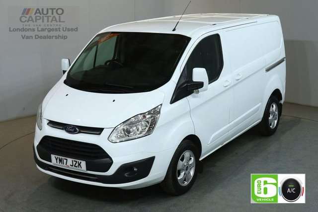 2017 17 FORD TRANSIT CUSTOM 2.0 270 LIMITED 130 BHP SWB L1 H1 L/ROOF AIR CON EURO 6 VAN AIR CONDITIONING EURO 6 LTD