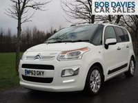 USED 2013 63 CITROEN C3 PICASSO 1.6 PICASSO EXCLUSIVE HDI 5d 91 BHP