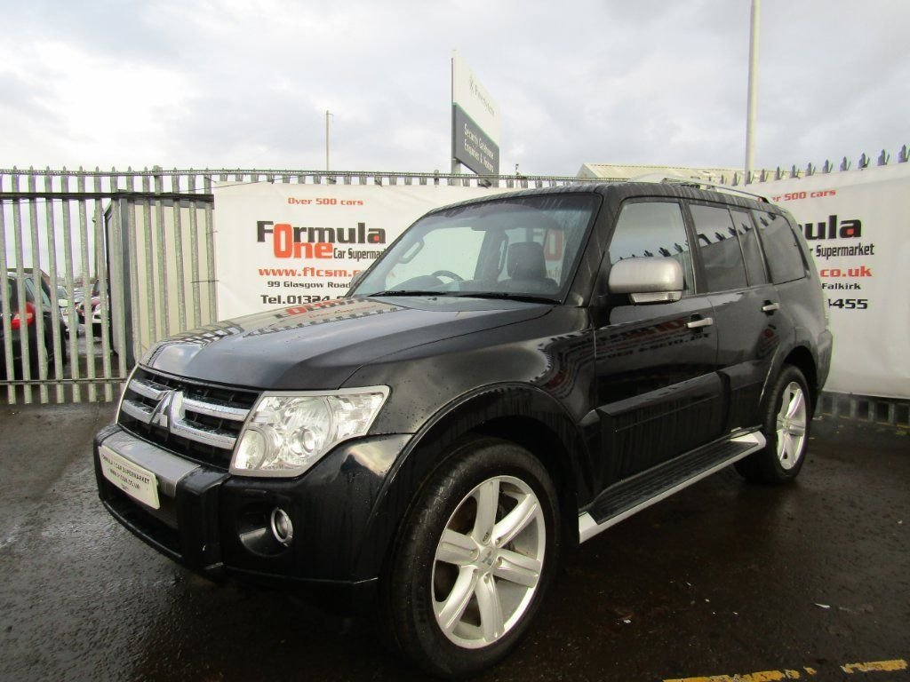 USED 2011 11 MITSUBISHI SHOGUN 3.2 DI-DC Diamond LWB SUV 5dr FULL MOT+FULL LEATHER+SAT NAV