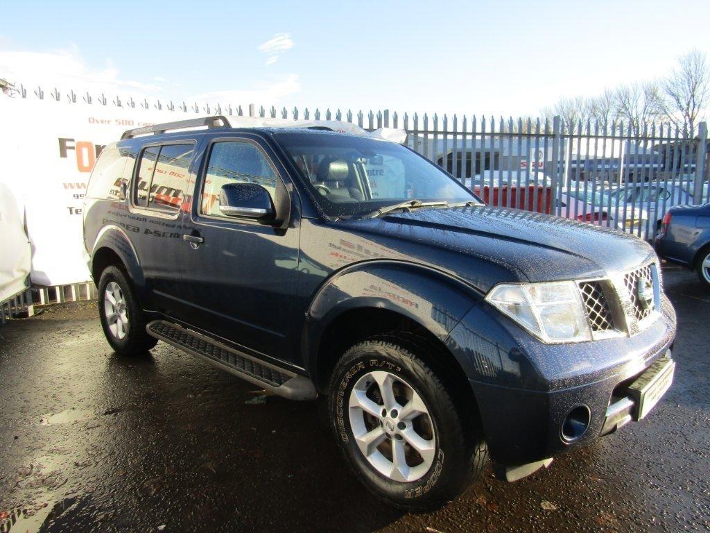 2009 Nissan Pathfinder 2 5 DCI Tekna 5dr £8,990