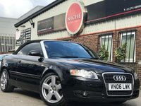 USED 2006 06 AUDI A4 2.0 TDI Sport Cabriolet 2dr 12M MOT~18' ALLOYS~LEATHER