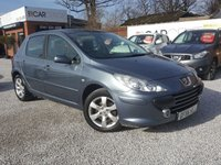 2006 PEUGEOT 307 1.6 S 5d AUTO 108 BHP £2495.00