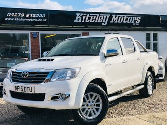 2015 TOYOTA HI-LUX 3.0 D4D INVINCIBLE 4X4 DOUBLE CAB AUTO LEATHER & NAVIAGTION £SOLD