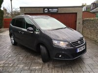 USED 2016 16 SEAT ALHAMBRA 2.0 TDI SE LUX 5d AUTO 150 BHP 1 OWNER+FULL SEAT HISTORY+1YR MOT+DSG+PAN ROOF+NAV+LEATHER+CRUISE