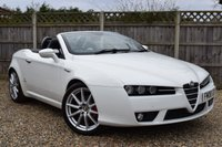 USED 2008 08 ALFA ROMEO SPIDER 2.2 JTS LIMITED EDITION 2d 185 BHP Free 12  month warranty
