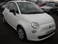 2012 FIAT 500 1.2 POP 3d 69 BHP £2595.00
