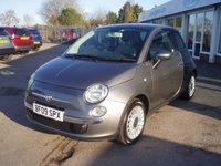 2009 FIAT 500 1.2 LOUNGE 3d 69 BHP £3765.00