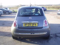 USED 2009 09 FIAT 500 1.2 LOUNGE 3d 69 BHP