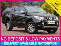 USED 2016 65 MITSUBISHI L200 2.4 DI-D WARRIOR DOUBLE CAB HARDTOP CANOPY SAT NAV HARDTOP CANOPY SATELLITE NAVIGATION LEATHER CLIMATE