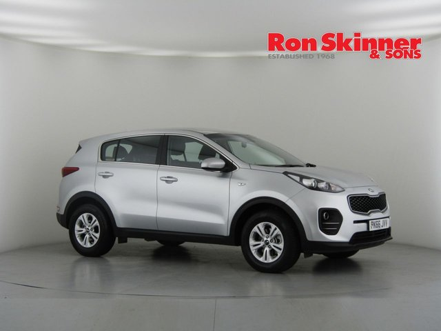 View our 2016 66 KIA SPORTAGE 1.7 CRDI 1 ISG 5d 114 BHP