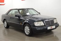 USED 1995 N MERCEDES-BENZ E CLASS 2.2 E220 2d AUTO 'PILLARLESS' COUPE 150 BHP ONLY 69K + MASSIVE HISTORY FILE + STUNNING PILLARLESS CLASSIC