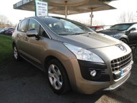 2013 PEUGEOT 3008 1.6 HDI ACTIVE 5d 115 BHP ONE FORMER KEEPER £5995.00