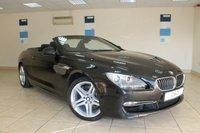 2011 BMW 6 SERIES 3.0 640I SE 2d AUTO 316 BHP CONVERTIBLE